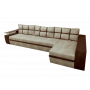 Угловой диван Мустанг Лонг с подушками от Гулливера