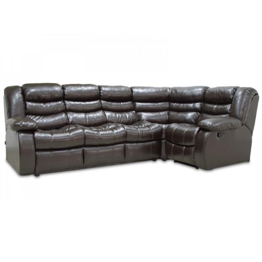 Угловой диван Чероки 3х1 с мягким углом