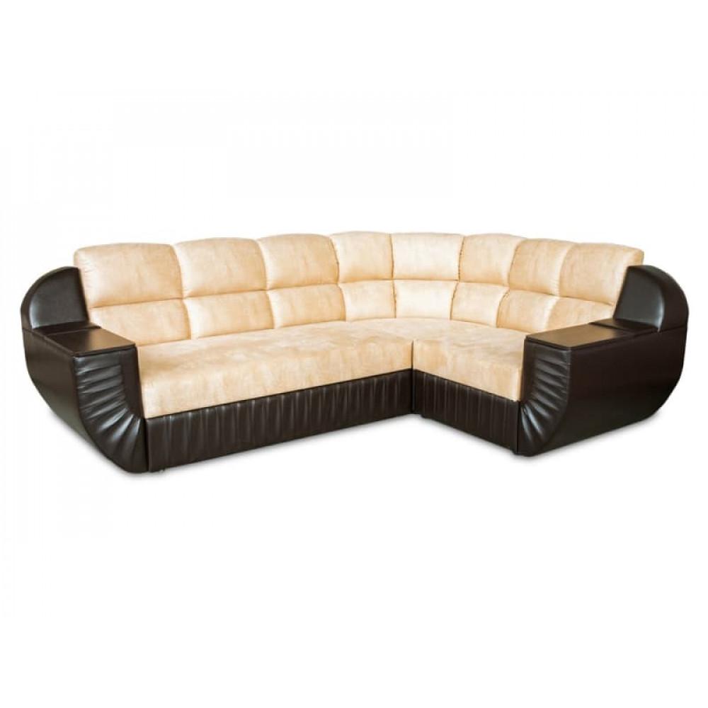Угловой диван Инфинити мягкий угол
