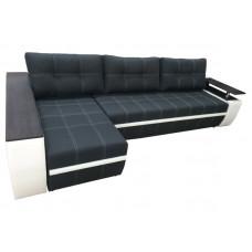 Угловой диван Мустанг Лонг с утяжкой и подушками от Тет-а-Тет